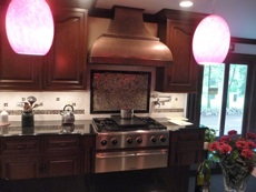 kitchen renovation finish dark wood