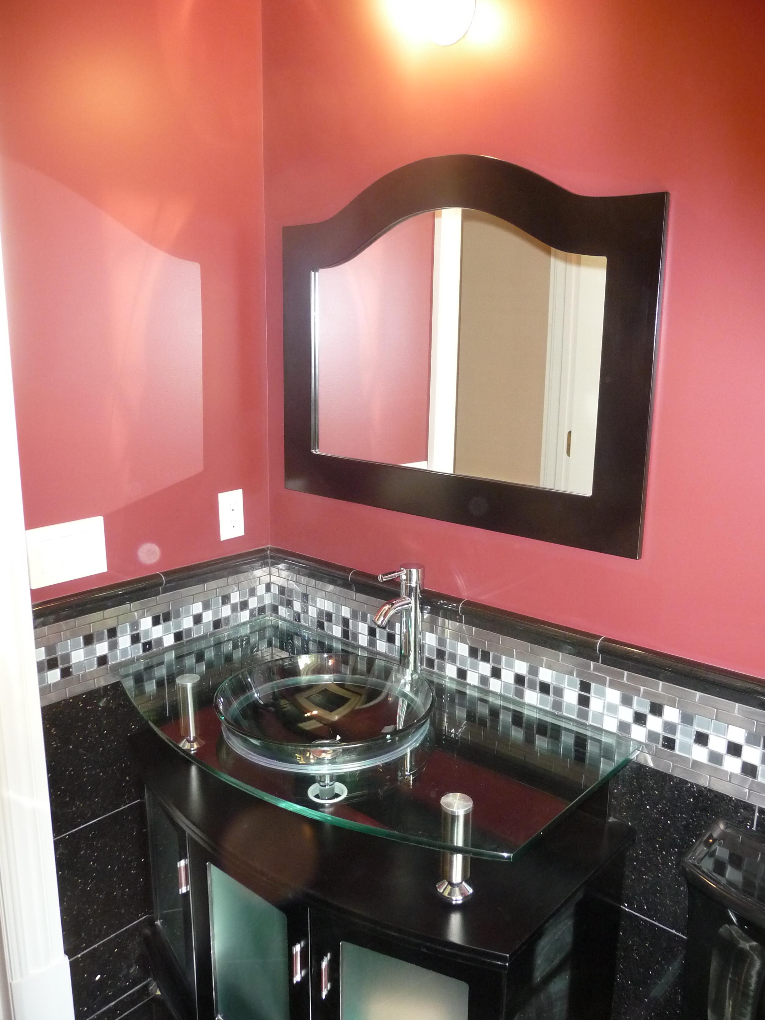 custom finish bathroom