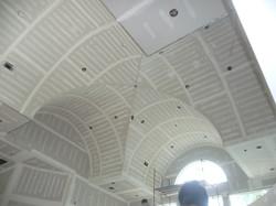 drywall of custom high ceiling