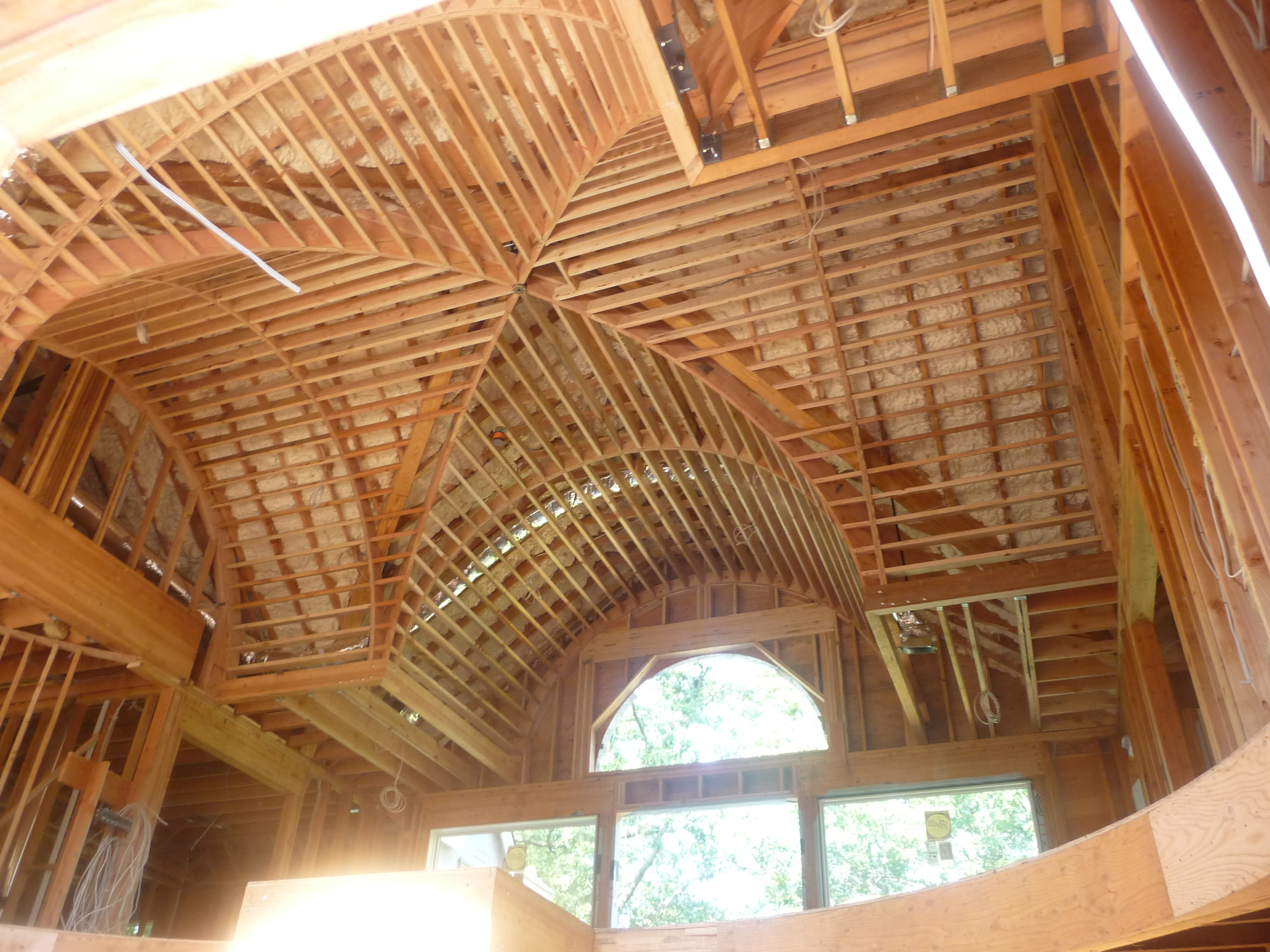 custom ceiling rough framing