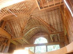 custom ceiling rough framing