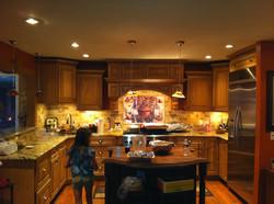 Custom Home Rendering Interior