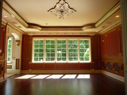 custom trim dining room