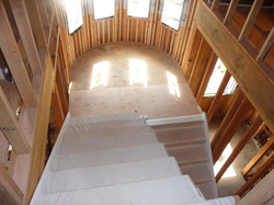 custom home stairs