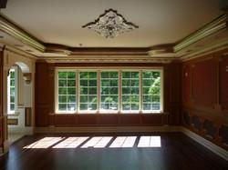 Dining Room with Custom Trim