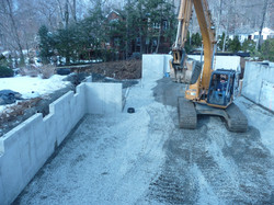 excavation for new home