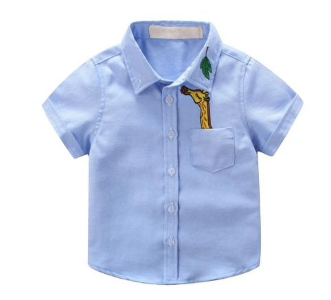 Short Sleeve Shirt Blue