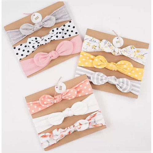 3pcs/set Baby Headband Girls Hair Accessories