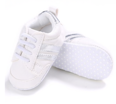 2 Striped Baby Sneakers 5 Colors
