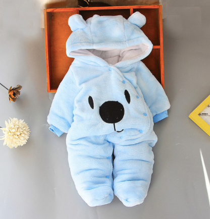 Newborn Romper Blue