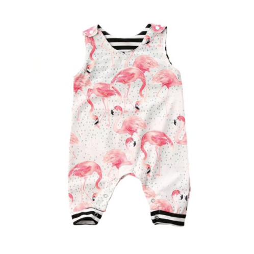 Baby Flamingo Romper