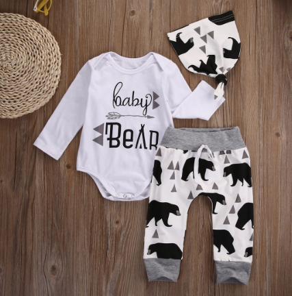 Baby Bear Romper+Pant