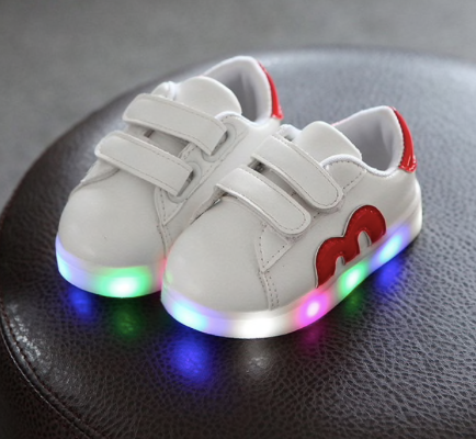 LED Classic Casual Shoes