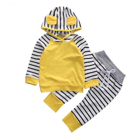 Yellow Stripe Longsleeve