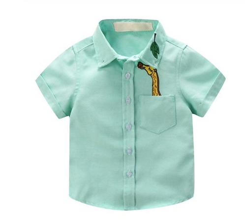 Short Sleeve Shirt Green