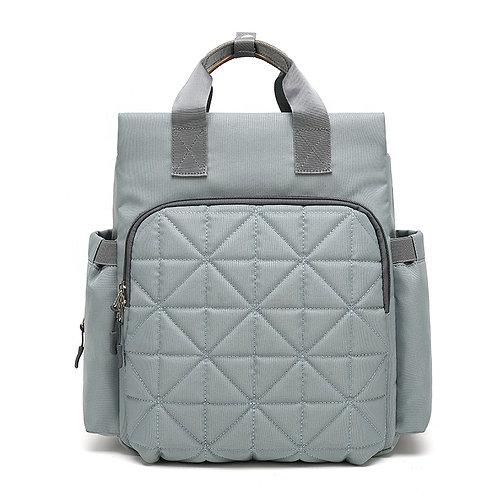 Travel Diaper Bag Grey