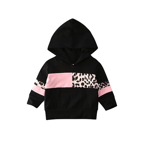 Leopard Printed Hoodie