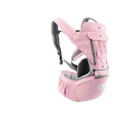 All-in-one Ergonomic Baby Carrier Pink