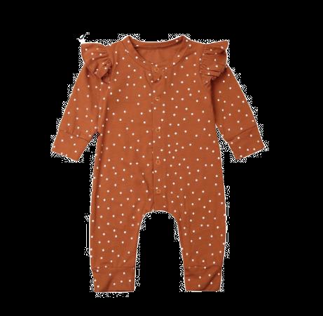 Baby Body Orange/White