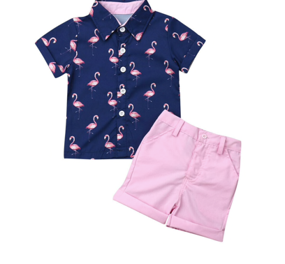 Playa Time Navy/Pink