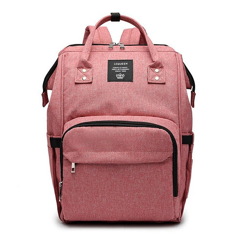 Essential Diaper Bag Baby Pink