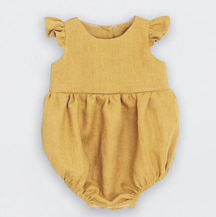 Little Yellow Romper