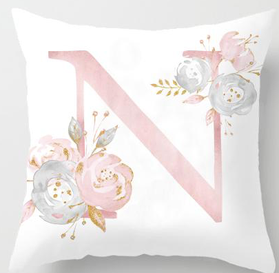 Letter Cushion Cover