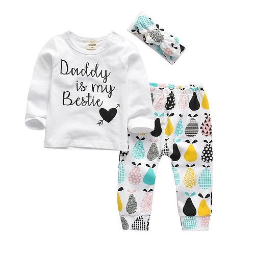 Daddy is my bestie