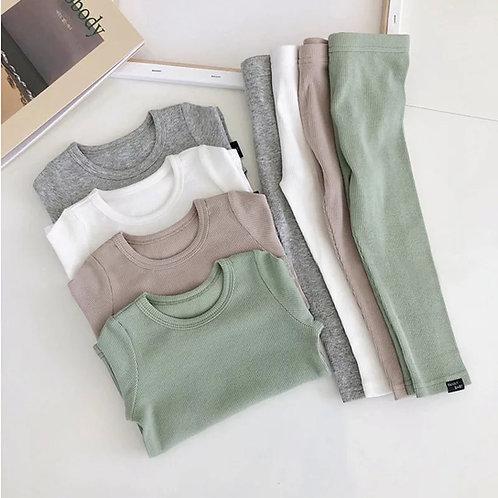 Tops+Pants 2pcs Children Clothing