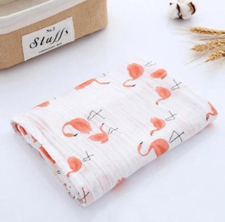 Soft Muslin Cotton Swaddle Blanket