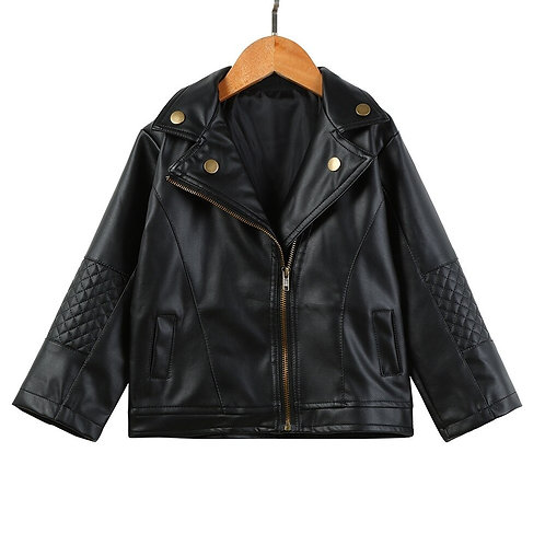Cute Jacket Faux Leather
