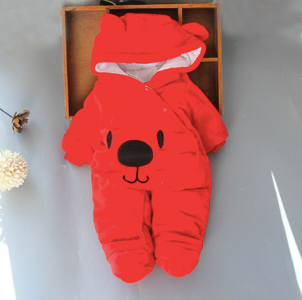 Newborn Romper Red