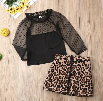 Baby Girl Leopard Kit