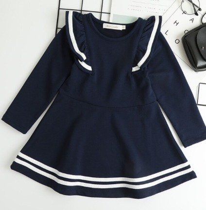 Alexia Dress Navy