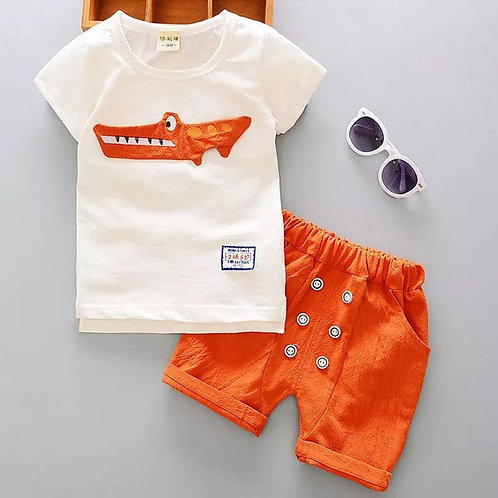 Cartoon Cotton Summer Clothing Sets