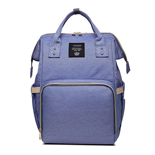 Essential Diaper Bag Purple
