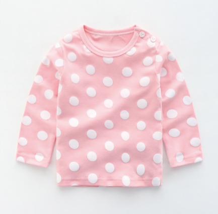 Anna Longsleeve Pink/White