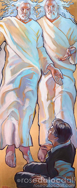 Hear Him by Rose Datoc Dall, 36x15 Signed Ltd Ed Print on Canvas