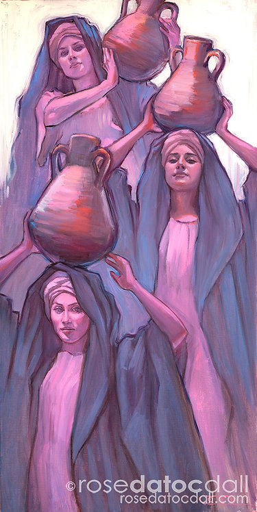 Women at the Well, by Rose Datoc Dall ($144)