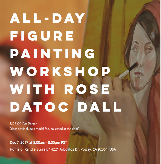 Dec 7th, All-Day Figure Painting Workshop