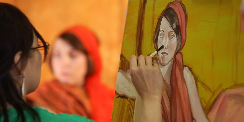 All-Day Figure Painting Workshop with Rose Datoc Dall