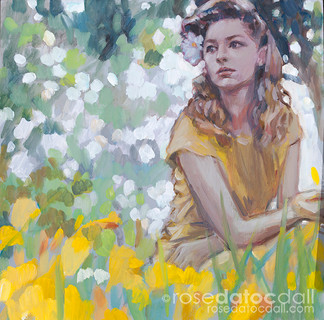 DAISIES AND DAYLILIES by Rose Datoc Dall