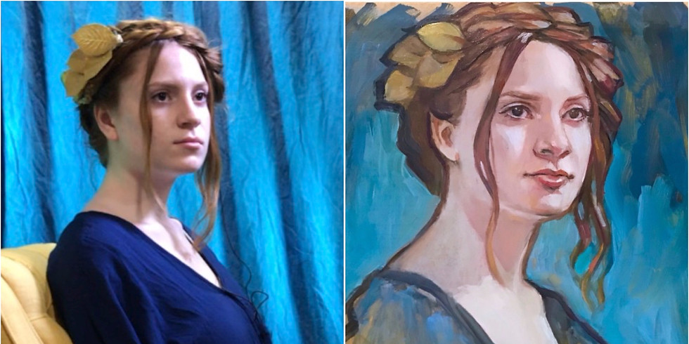 ENCORE 2019 All-Day Figurative Painting Workshop with Rose Datoc Dall