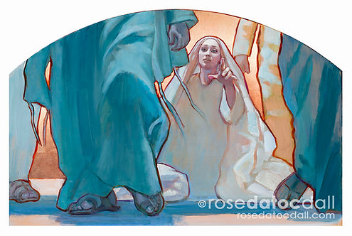 Woman of Faith by Rose Datoc Dall, 16x24 Signed Ltd Ed Print