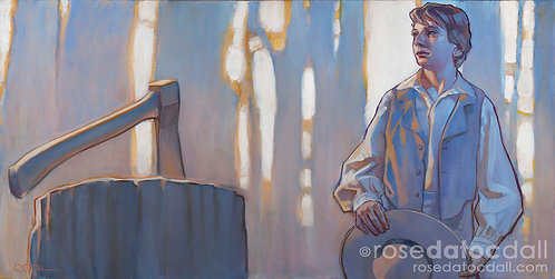 The Morning Breaks, by Rose Datoc Dall, 21x42 Signed Ltd Edition Print