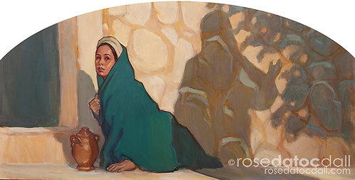 Why Weepest Thou by Rose Datoc Dall, 10x20 Signed Limited Ed Print