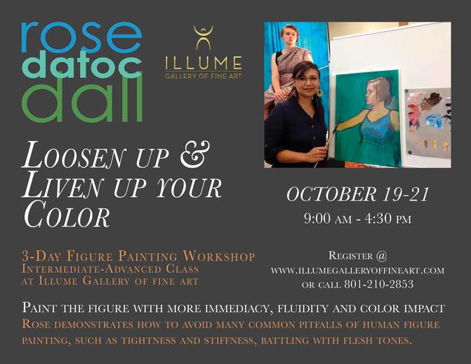 Figure Drawing Workshop October 19 - 21