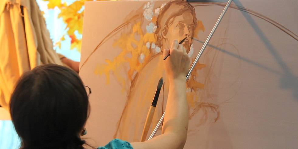 WAIT LIST- Figurative Painting Workshop with Rose Datoc Dall