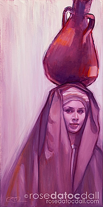Water Carrier 3 by Rose Datoc Dall