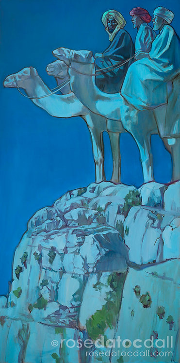 Wisemen, by Rose Datoc Dall, 20x40 Signed Ltd Edition Print